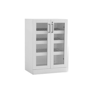 "NewAge Products Home Bar Series 16"" Display Cabinet"