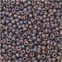 Toho Seed Beads, Round 11/0 Semi Glazed, 8 Gram Tube, Rainbow Lavender