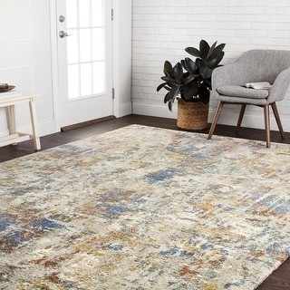 Link to Alexander Home Mid-Century Modern Abstract Area Rug Similar Items in Dining Room & Bar Furniture