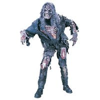 Fun World Complete Zombie Adult Costume - Grey - One size