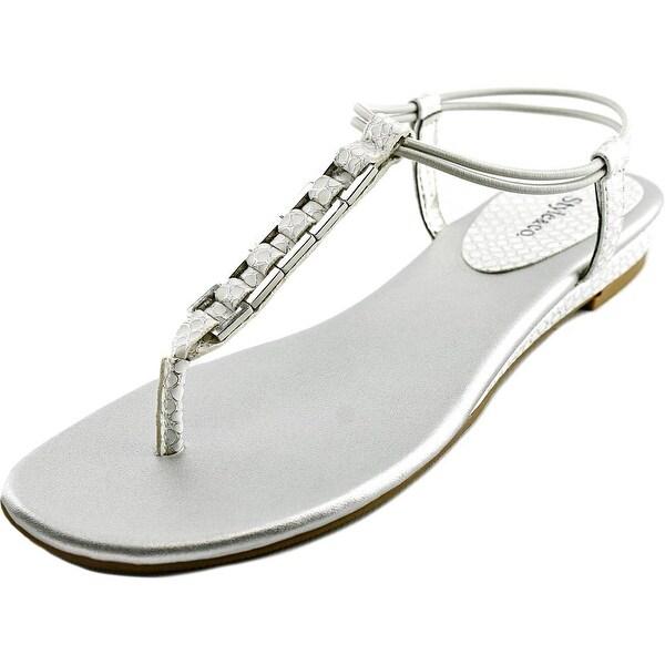 Style & Co Edithe   Open Toe Synthetic  Thong Sandal