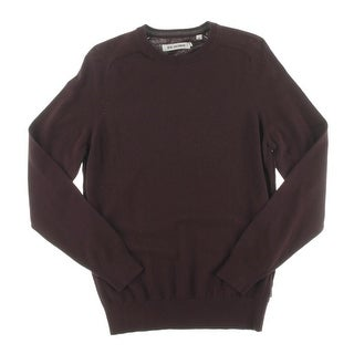 Ben Sherman Mens Pullover Sweater Long Sleeve Solid