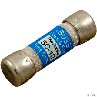 Time Delay Fuse, 10A, 115v, SC