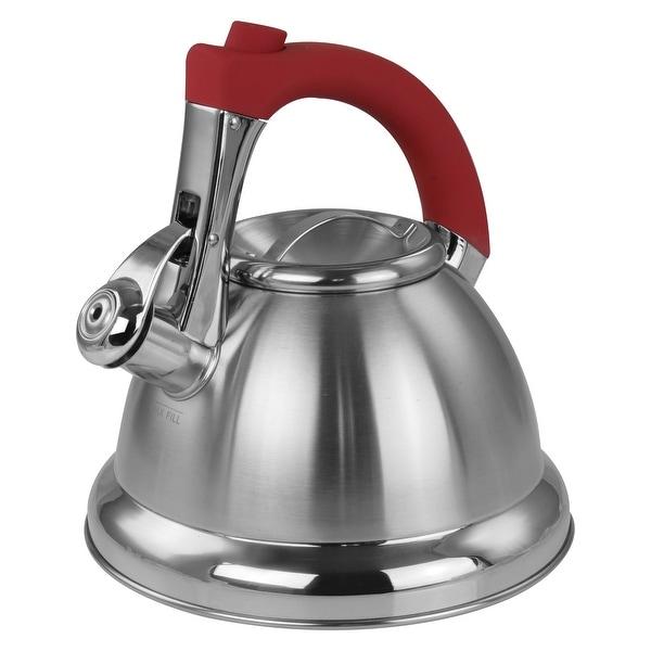 Mr. Coffee 1.8 quart Stainless Steel Whistling Tea Kettle - 1.8 Quarts