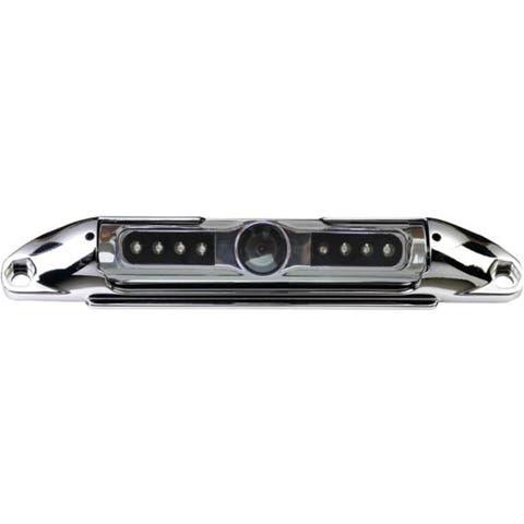 Bar-Type 140° License Plate Camera with IR Night Vision (Chrome)