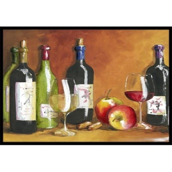 Carolines Treasures TMTR300AMAT Wine by Malenda Trick Indoor or Outdoor Mat 18 x 27
