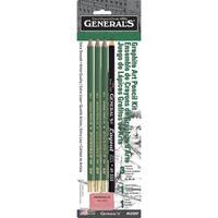 General's Non-Toxic Mini Drawing Kit, Black, Pack of 5