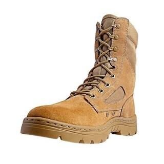 Ridge Tactical Boots Mens Dura Max Coyote Oil Slip Resistant Sand