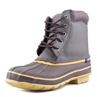 Baffin Moose Round Toe Leather Rain Boot