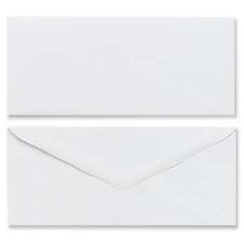 Mead MEA75064 Plain Envelopes- Gummed- No 10- White