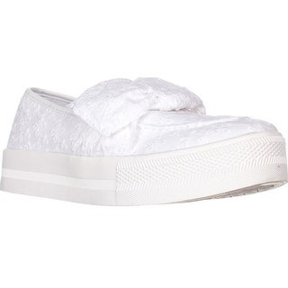 G Guess Chippy Slip-On Fashion Sneakers, White