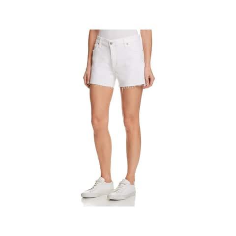 Joe's Jeans Womens The Lover Denim Shorts Distressed Boyfriend
