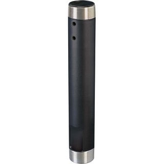 Chief CMS012M Fixed Extension Column 12 In, Black