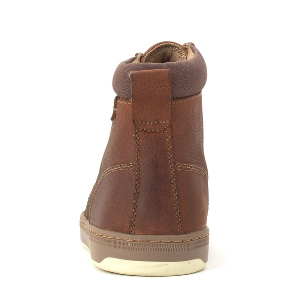 Chaps Mens Medford Leather Closed Toe Ankle Fashion Boots