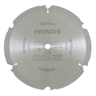 """Hitachi 18108 Diamond Saw Blade, 10"""" Dia, 6 Tpi"""