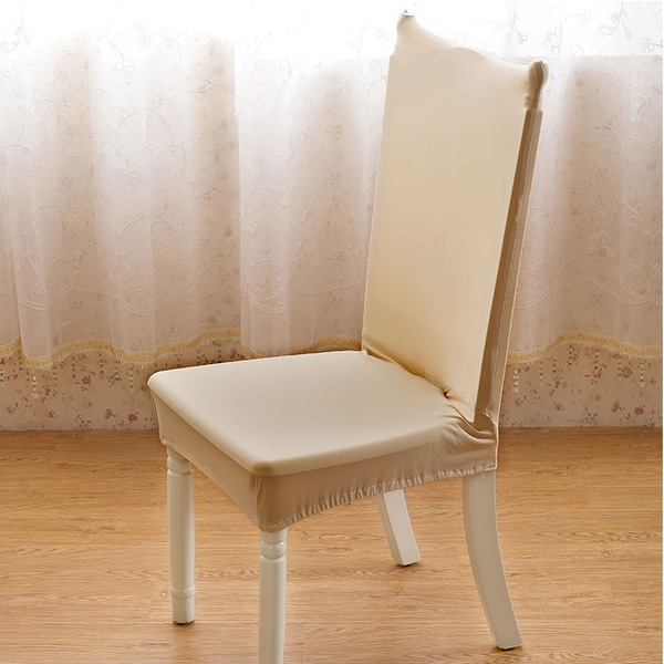 Shop Stretch Washable Short Dining Room Chair Protector