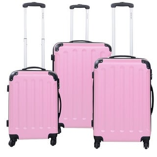 Pink Luggage - Shop The Best Deals for Oct 2017 - Overstock.com 46ae43d779