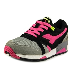 Diadora N9000 Women Round Toe Synthetic Black Sneakers