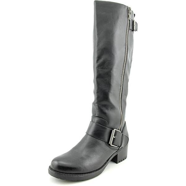 Mia Peterson Women Black Boots