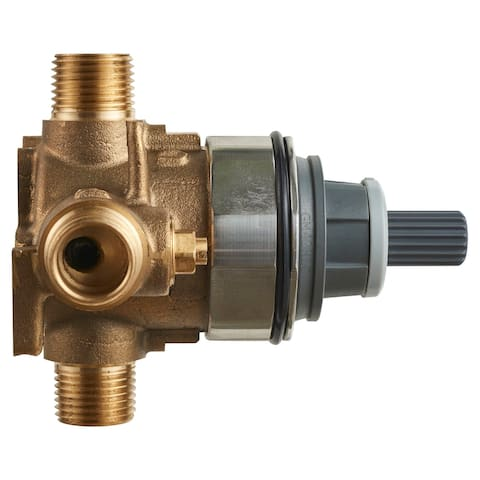 "American Standard RU101SS Flash Shower Rough-In Valve Body with 1/2"" - Natural"