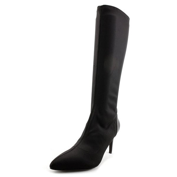 Charles By Charles David Superstar Women Synthetic Black Knee High Boot