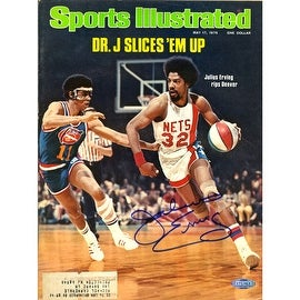 Julius Erving 5/17/76 Signed Sports Illustrated Magazine