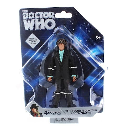 "Doctor Who 5"" Action Figure: Fourth Doctor Regenerated - multi"