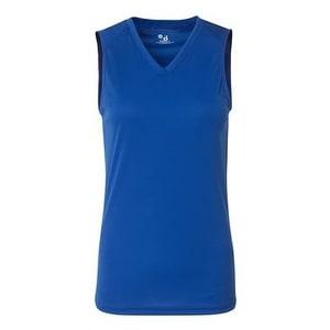 B-Core Women's Sleeveless T-Shirt - Royal - XL