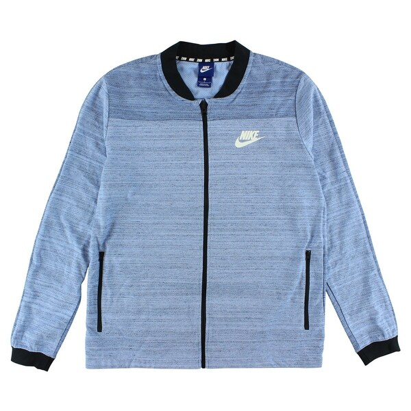 Nike Mens Sportswear AV15 Knit Jacket Black