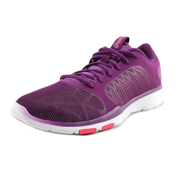 Asics Gel-Fit Tempo 3 Women Round Toe Synthetic Purple Sneakers