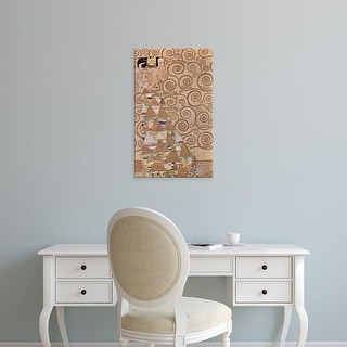 Easy Art Prints Gustav Klimt's 'The Expectation' Premium Canvas Art