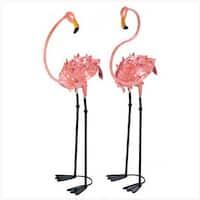 Home Locomotion 10013772 Flamboyant Flamingo Stakes