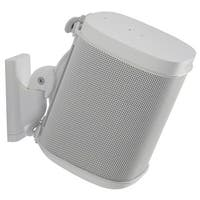 Sanus Wireless Speaker Swivel and Tilt Wall Mount for Sonos ONE, PLAY:1, and PLAY:3 - Each