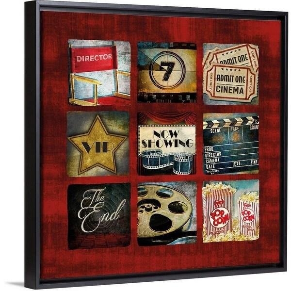 Shop Mollie B Floating Frame Premium Canvas With Black Frame