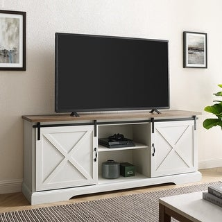 Link to The Gray Barn Wind Gap 70-inch Sliding Barn Door TV Console Similar Items in TV Stands & Entertainment Centers