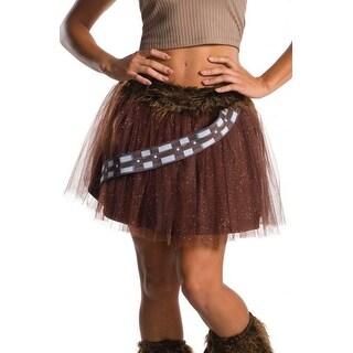 Rubies Chewbacca Adult Tutu Skirt - Brown