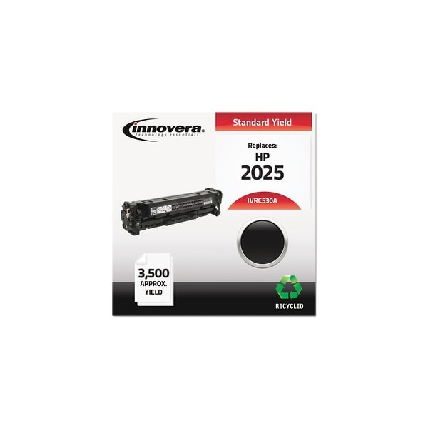 Innovera Remanufactured CC530A (304A) Toner, Black Remanufactured CC530A (304A) Toner, Black