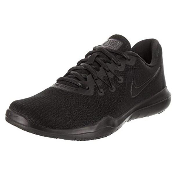 new product ef99c 2876e Shop Nike Women s Flex Supreme Flex Tr 6 Training Shoe,  Black Black-Anthracite, 8 - Free Shipping Today - Overstock - 25661668