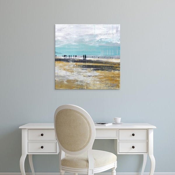 Easy Art Prints Clara Summer's 'Beach III' Premium Canvas Art