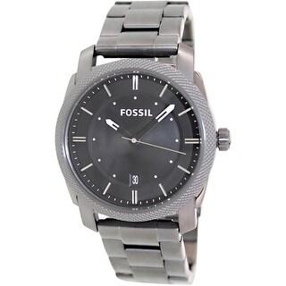 Fossil Men's Machine FS4774 Grey Stainless-Steel Quartz Fashion Watch