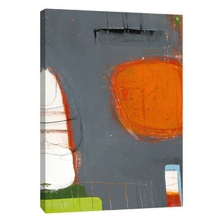 """PTM Images 9-108472  PTM Canvas Collection 10"""" x 8"""" - """"Aspect #5"""" Giclee Abstract Art Print on Canvas"""