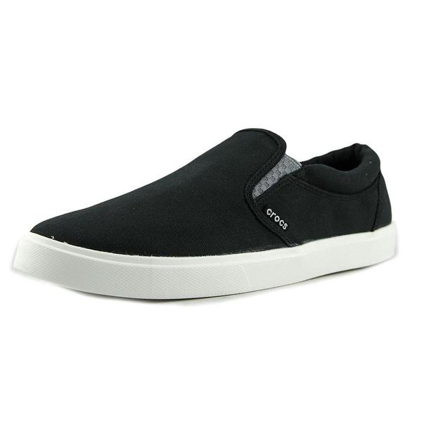 Crocs CitiLane Slip-on Sneaker Canvas Fashion Sneakers