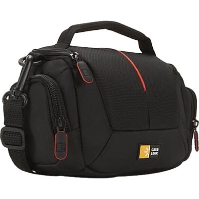 """Case Logic DCB-305 Case Logic DCB-305 Carrying Case for Camcorder - Black - Polyester, Nylon - Handle, Shoulder Strap"""