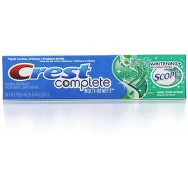Crest Whitening Plus Scope Toothpaste Minty Fresh Striped 4.40 oz