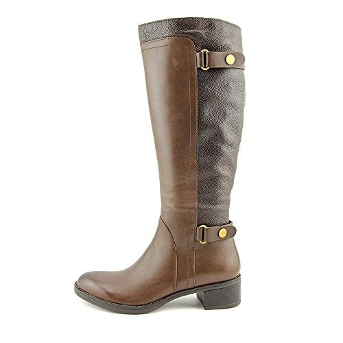 54b118b1c607 Shop Franco Sarto Women s Crash Wide Calf Riding Boot - Free Shipping Today  - Overstock - 16198262