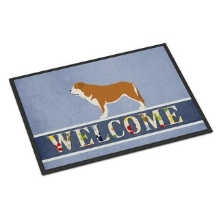 Carolines Treasures BB8349JMAT Mastin Epanol Spanish Mastiff Indoor or Outdoor Mat - 24 x 36 in.