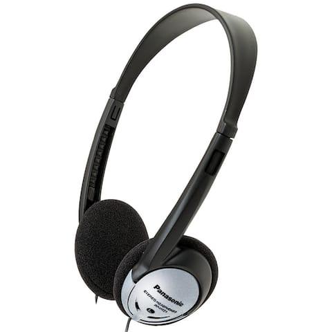 Panasonic RP-HT21 Lightweight On-Ear Headphones with XBS (100-Pack)
