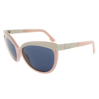 Diesel DL0117/S 72V Baby Pink/Silver Cat Eye sunglasses - 59-17-135