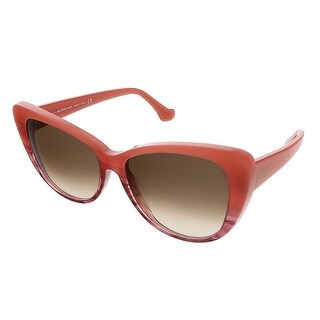 Balenciaga BA0016S 44F Coral Cat Eye Sunglasses