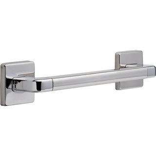 "Delta 41912 12"" Grab Bar with Concealed Mounting, Angular Modern Design (Option: Goldtone Finish)"